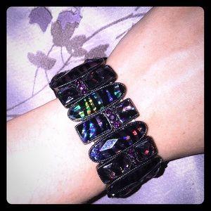 Purples Zebra Bracelet